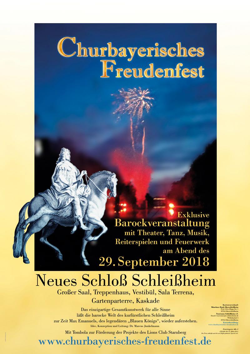 Plakat - Churbayerisches Freudenfest